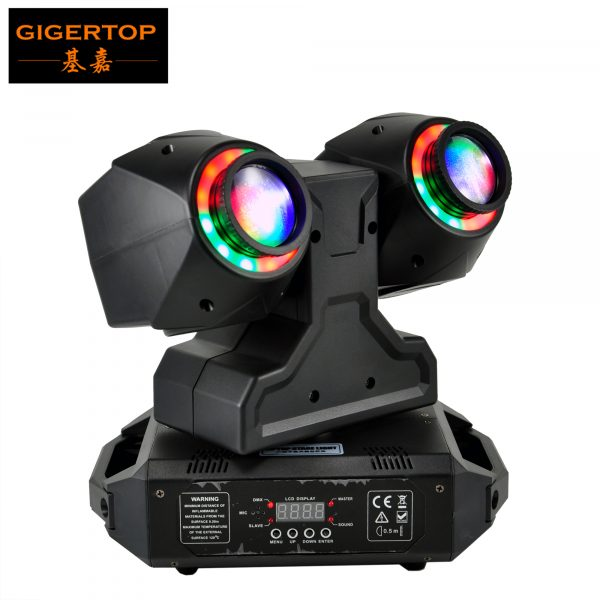 TIPTOP-2-X-30W-New-Club-Beam-Led-Moving-Head-Light-DMX512-Control-Dual-30W-LED